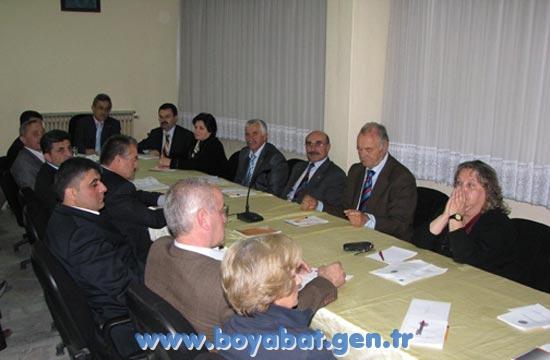 Boyabat Yeni Belediye Meclisinin İlk Toplantısı