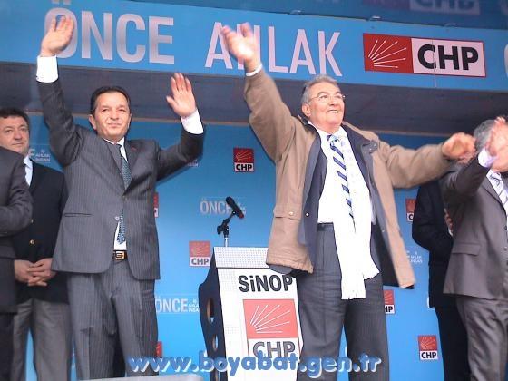 Chp Genel Başkanı Deniz Baykal Sinopa Geliyor