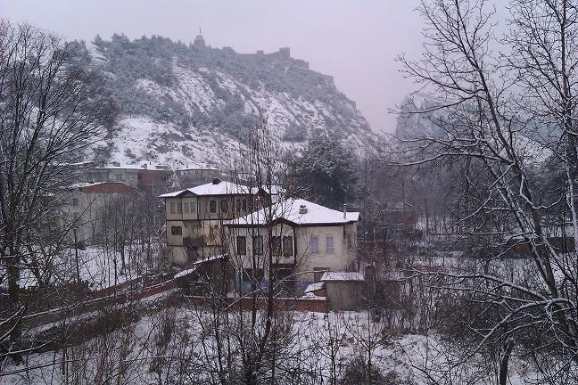 Boyabat'tan Kar Manzaraları 2012
