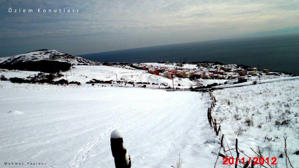 Sinoptan Kar Manzaraları-2012