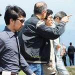 Japonlar İnceburun'da İlk İncelemelerini Yaptı