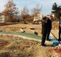 Erenlik Tepesine Yeni Park Yapılıyor