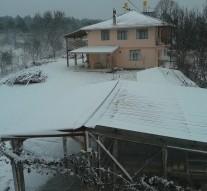 Yılın İlk Kar Manzaraları Düzkaraağaç Köyünden