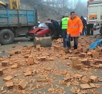 Karacören Yolu Üzerinde Trafik Kazası Meydana Geldi