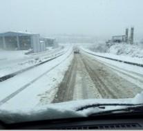 Sinop'ta Yoğun Kar Yağışı