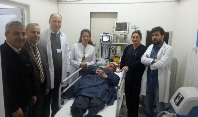 75. Yıl Devlet Hastanesi'nde Endoskopi Ünitesi, Hizmete Girdi